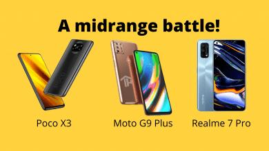 Poco Motorola Realme
