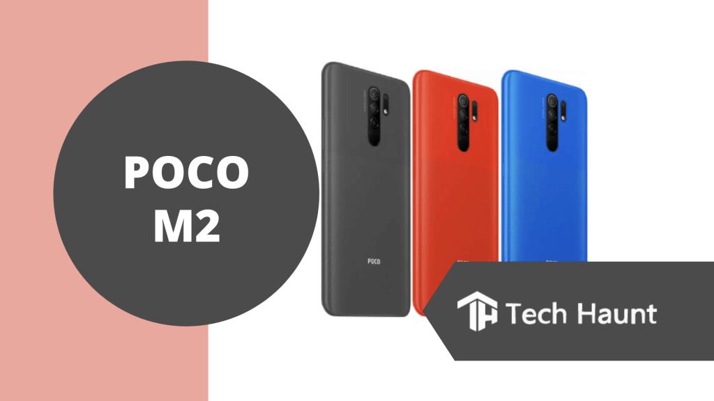 Poco M2, budget smart phone